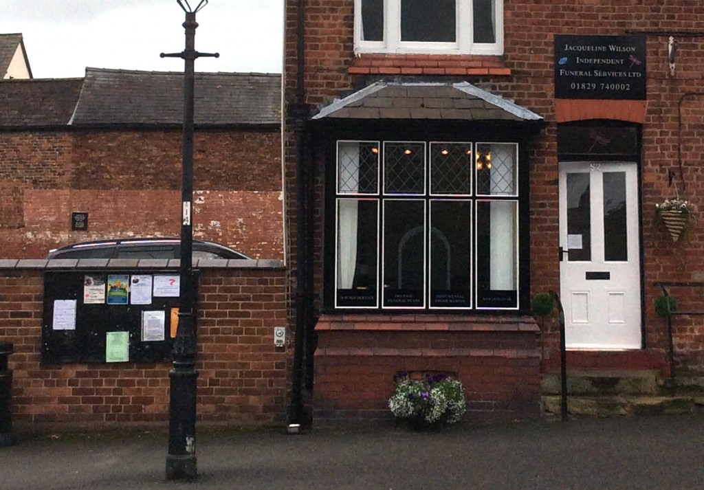 Funeral Director, Tarvin, Cheshire